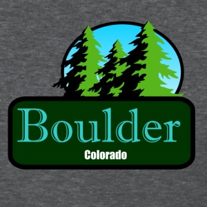 Boulder Colorado t shirt truck stop novelty - Women's T-Shirt