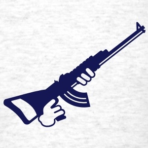automatic gun (1c) T-Shirts - Men's T-Shirt