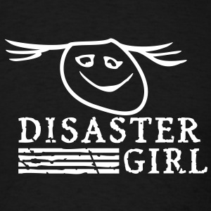disaster girl (1c) T-Shirts - Men's T-Shirt