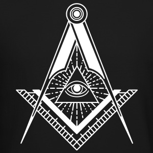 All Seeing Eye (Black) - Long Sleeve Shirts - Crewneck Sweatshirt