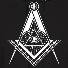 All Seeing Eye (Black) - Hoodies