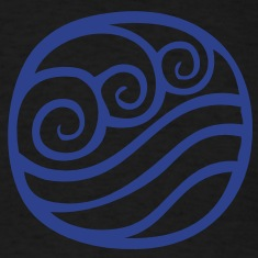 Water Tribe Symbol - VECTOR T-Shirts