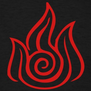 Fire Nation Symbol - VECTOR T-Shirts - Men's T-Shirt