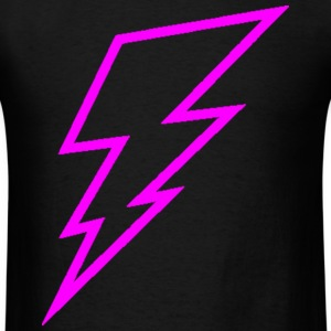 Pink Lightning Bolt T-Shirts - Men's T-Shirt