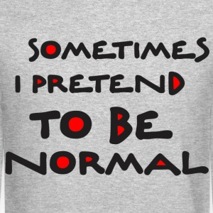 Normal_is_bored Long Sleeve Shirts - Crewneck Sweatshirt