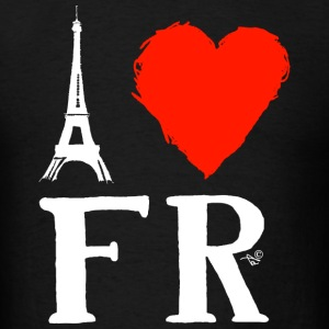 I Heart France (remix) - Men's T-Shirt