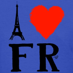 I Heart France (remix) - Women's T-Shirt