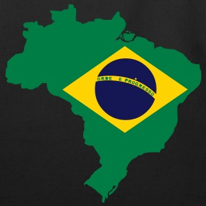 Brazil Map Bags  - Eco-Friendly Cotton Tote