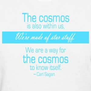 Carl Sagan - We're made of star stuff - Women's T-Shirt