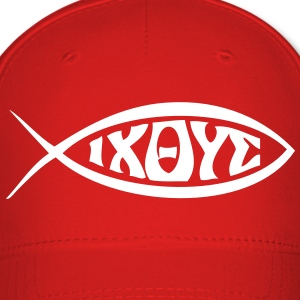 Jesus Fish - VECTOR Caps - Baseball Cap