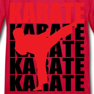 Karate - Kids' Long Sleeve T-Shirt