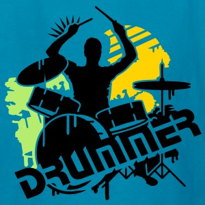 A drummer and his drums Kids' Shirts - Kids' T-Shirt
