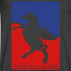 Camp Half-Blood T-Shirts - Men's V-Neck T-Shirt by Canvas