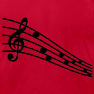 musicschool - Men's T-Shirt by American Apparel