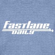 Design ~ Fast Lane Daily Logo on Vintage T