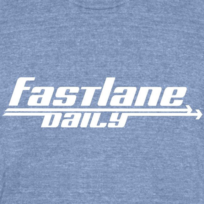 Fast Lane Daily Logo on Vintage T