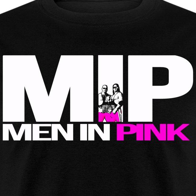 31e018dfeeeb Men In Pink - Hart Foundation Men In Black Parody T-Shirt