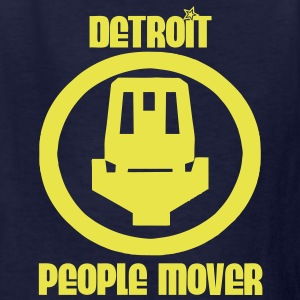 Detroit People Mover Kids' Shirts - Kids' T-Shirt
