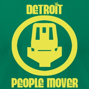 Detroit People Mover T-Shirts - Men's T-Shirt by American Apparel