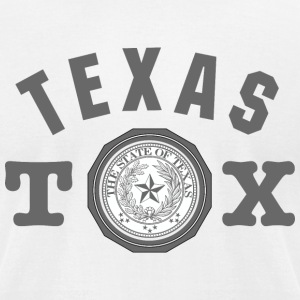 Texas Seal American Apparel T-Shirt - Men's T-Shirt by American Apparel