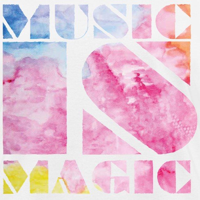 Music is Magic Watercolour 1