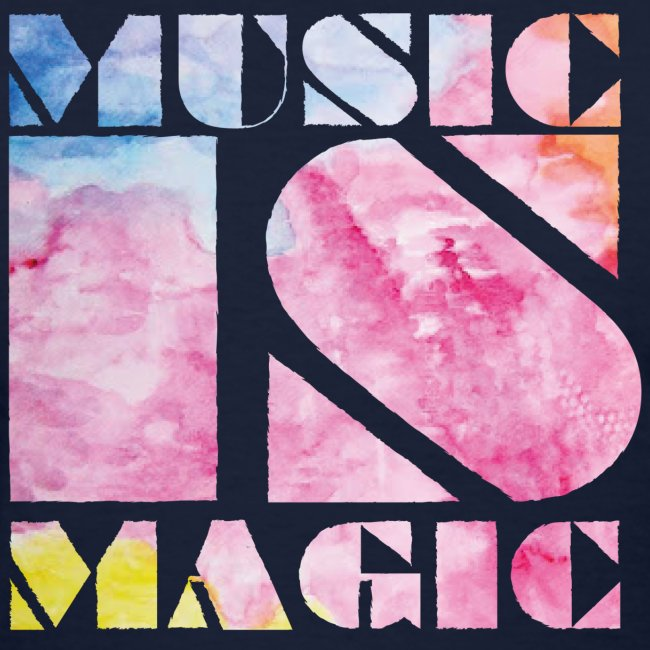 Music is Magic Watercolour 2