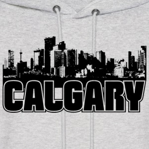 Calgary Skyline Hooded Sweatshirt - Men's Hoodie