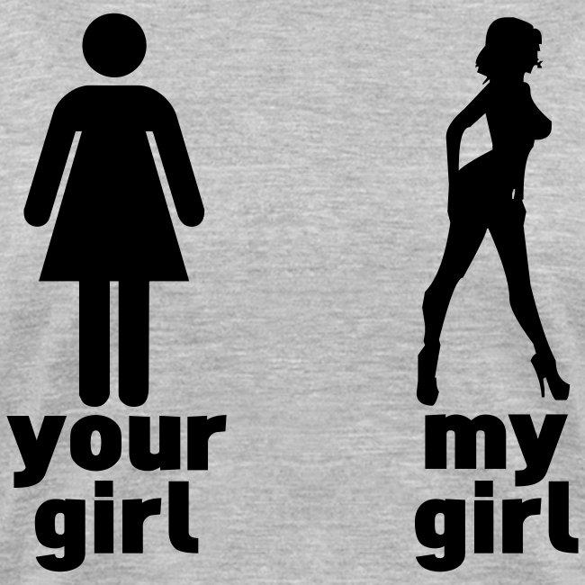 Girl Vs. Girl V-neck