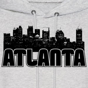 Atlanta Skyline Hooded Sweatshirt - Men's Hoodie
