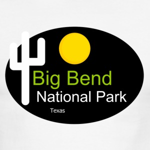 Big Bend National Park Texas t shirt truck stop - Men's Ringer T-Shirt