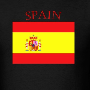 Spanish Flag spain yellow t shirt - Men's T-Shirt