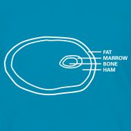 Design ~ Ham Infographic Kids' T-shirt
