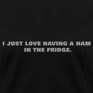 Design ~ Ham in the Fridge Women's Standard Weight T-Shirt