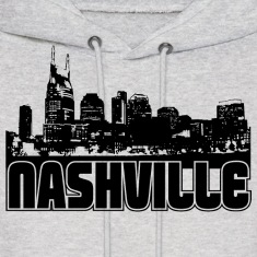 Nashville Skyline Hooded Sweatshirt