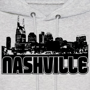Nashville Skyline Hooded Sweatshirt - Men's Hoodie