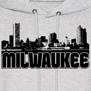 Milwaukee Skyline Hooded Sweatshirt - Men's Hoodie