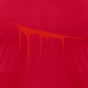 blood T-Shirts - Men's T-Shirt by American Apparel