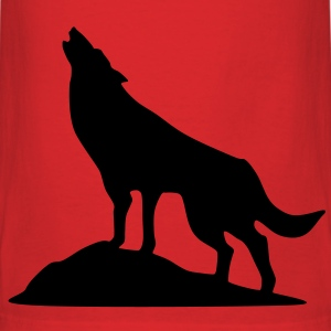 Wolve, Dog, Wolf T-Shirts - Men's T-Shirt