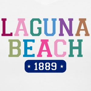 Laguna Beach 1889 V-Neck T-Shirt - Women's V-Neck T-Shirt