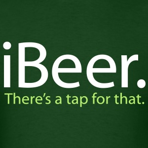 St Patrick's Day iBeer - Men's T-Shirt