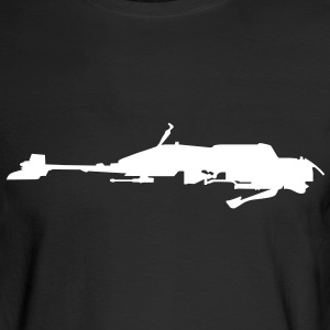 Speeder Bike - VECTOR Long Sleeve Shirts - Men's Long Sleeve T-Shirt