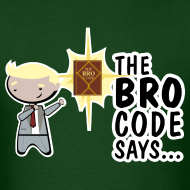 Design ~ barney stinson how i met your mother brocode