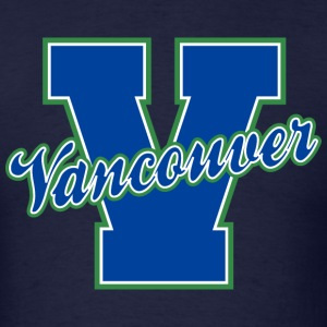 Vancouver Letter Standard Weight T-Shirt - Men's T-Shirt