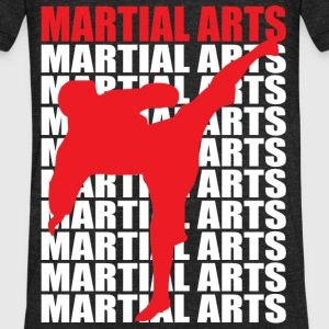 Martial Arts - Unisex Tri-Blend T-Shirt by American Apparel
