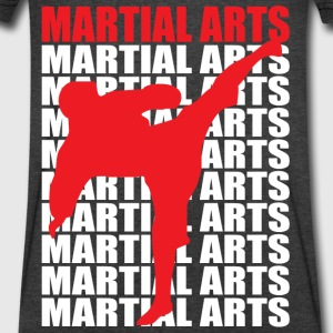 Martial Arts - Men's V-Neck T-Shirt by Canvas