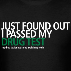 Drug Test - Men's T-Shirt