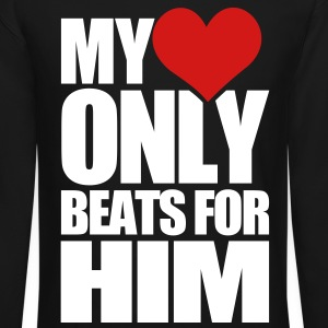 My Heart Only Beats for HIM - Crewneck Sweatshirt