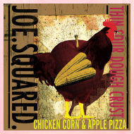 Design ~ Chicken Corn and Apple Kid's T-shirt