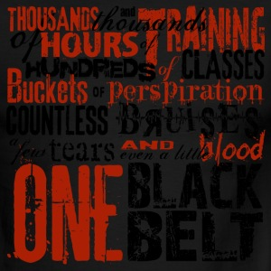 One Black Belt - Men's Ringer T-Shirt