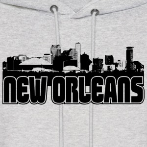 New Orleans Skyline Hooded Sweatshirt - Men's Hoodie